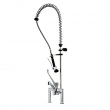 STYL Pre-Rinse Unit on Biforo Mix with sanitary lever